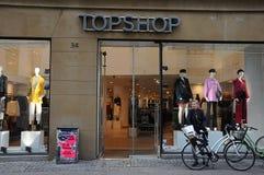 Магазин Topshop в Копенгагене в Копенгагене стоковое фото
