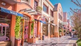 Магазин Tous роскошный на деревне Las Rozas ходя по магазинам около Мадрида, Испании стоковая фотография rf