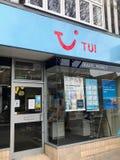 Магазин TUI стоковые изображения rf