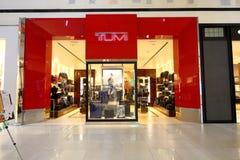 Магазин Tumi стоковые изображения