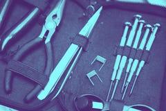 Магазин Vape с современными vaping частями прибора запасными стоковое фото rf