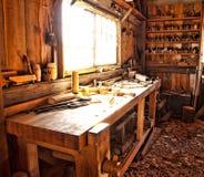 Магазин Woodworkers Стоковое Изображение RF
