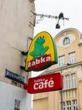 Магазин Zabka Стоковые Фото
