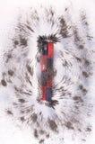 Магнитное поле бара Стоковое Изображение