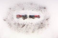 Магнитное поле бара Стоковая Фотография RF