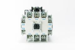 Магнитное управление переключателя на изолированный Стоковое Фото