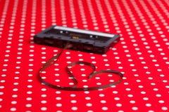 Магнитофонная кассета с магнитной лентой Стоковые Фотографии RF