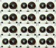 Магнитофонные кассеты для рекордера Стоковое фото RF