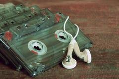 Магнитофонные кассеты Стоковое Изображение RF