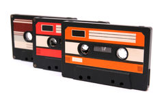 магнитофонные кассеты Стоковая Фотография