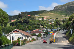 магнит Новая Зеландия lyttleton christchurch залива Стоковые Изображения