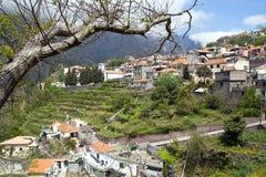 Мадейра, долина монашек, Curral das Freiras стоковая фотография
