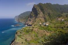 Мадейра - Boaventura & Arco de Sao Джордж Стоковое Изображение