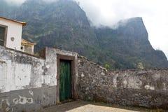 Мадейра, Curral das Freiras, квадрат стоковые фото