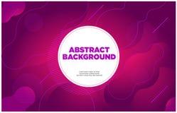 Маджента абстрактной предпосылки знамени пурпурная бесплатная иллюстрация