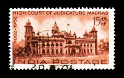 Мадрас, столетие индийского serie высших судов, около 1962 стоковое изображение rf