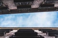 Мадрид от дна Стоковое фото RF