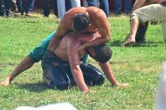Мазеподобный wrestling спорт для турков Стоковая Фотография RF