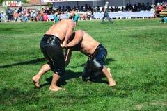Мазеподобный wrestling спорт для турков Стоковое фото RF