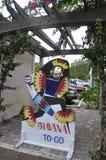 Майами, 9-ое августа: Меньшие искусства улицы общины Гаваны от Майами в Флориде США Стоковое фото RF