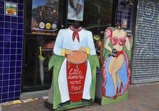 Майами, 9-ое августа: Меньшие искусства улицы общины Гаваны от Майами в Флориде США Стоковые Изображения