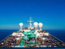 Майами, США - 12-ое января 2014: Туристическое судно славы масленицы Стоковое Фото