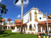 Майами, Флорида, ноябрь 2017: Wat Buddharangsi Майами Therava стоковое фото rf