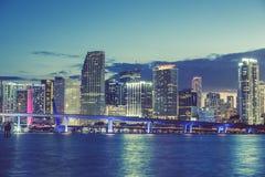 Майами, Флорида, специальный фотографический обрабатывать стоковое фото