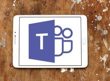 Майкрософт объединяется в команду логотип Стоковые Фотографии RF