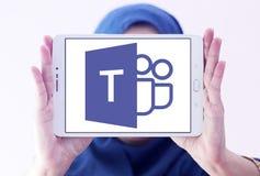 Майкрософт объединяется в команду логотип Стоковое Изображение RF