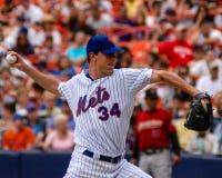 Майк Pelfrey, New York Mets Стоковые Изображения