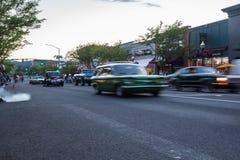 Майна ` автомобиля d, классическая выставка автомобиля Стоковая Фотография