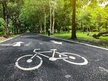 Майна велосипеда в парке Стоковое фото RF