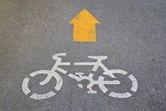 майна велосипеда Стоковое Изображение