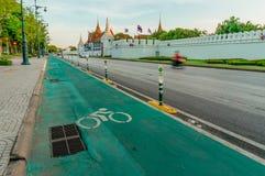 Майна велосипеда Бангкока Стоковая Фотография