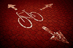 майна города bike задействуя Стоковое Изображение RF