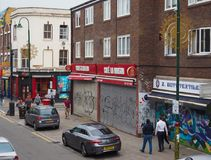 Майна кирпича в Лондоне стоковые изображения rf