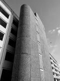 майна Лидс woodhouse автостоянки brutalist 1960s Стоковое Фото