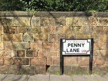 Майна Пенни Beatles стоковые фото