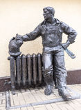 Майна собора Трубопровод скульптуры, скульптор Mikhail Ushakov стоковое фото rf