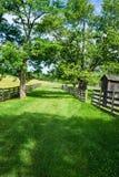 Майна страны на парке здания суда Appomattox национальном историческом Стоковые Фотографии RF