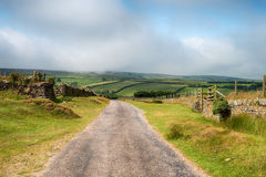 Майна страны на Exmoor Стоковое Изображение RF
