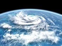 Майна урагана в центральном pacific бесплатная иллюстрация