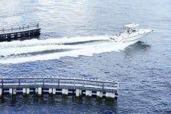 Майна для быстроходного катера Стоковое Изображение