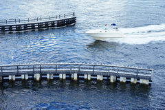 Майна для быстроходного катера Стоковое Фото