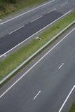 майна 2 carriageway blacktop двойная стоковая фотография rf