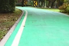Майны велосипеда в парке Wachirabenchathat Стоковое Изображение