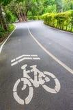 Майны велосипеда в парке, Бангкоке Стоковое Фото