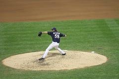 майор лиги бейсбола действия Стоковое Фото
