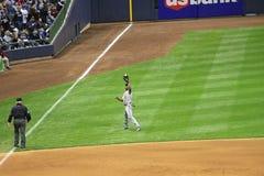 майор лиги бейсбола действия Стоковое фото RF